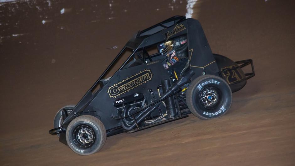 Macedo 15th at November Classic Aboard Tarlton Motorsports Midget