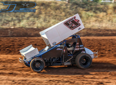 Cody Lamar Battles Back to Fourth at Placerville Speedway