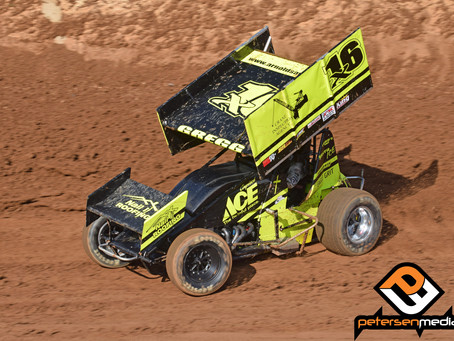 Andy Gregg Records Top-5 at Placerville Speedway