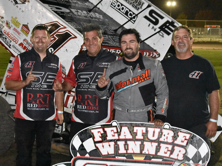 Dominic Scelzi Makes Triumphant Return to Ocean Speedway as He Scores Season Ending Victory with Bra