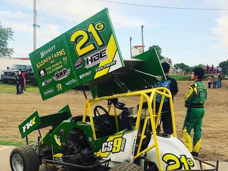 Kasiner Puts On Hard Charge at Port City Raceway