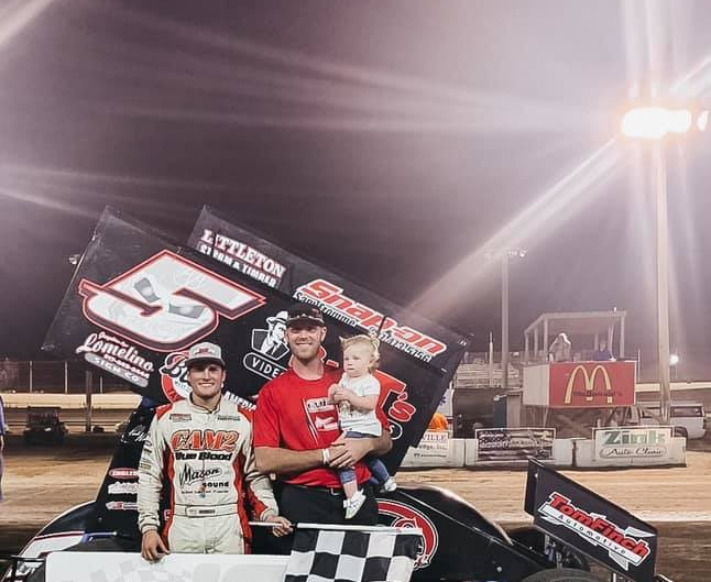 Paul Nienhiser 'Parks It' for 10th Time of Season