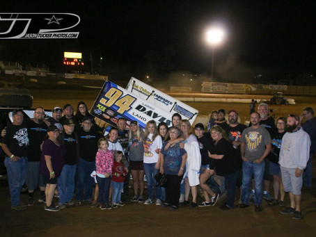 Steven Tiner Claims First Career Placerville Speedway Track Championship