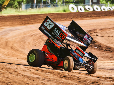 Lucas Ashe 15th During First Trip to Marvin Smith Memorial
