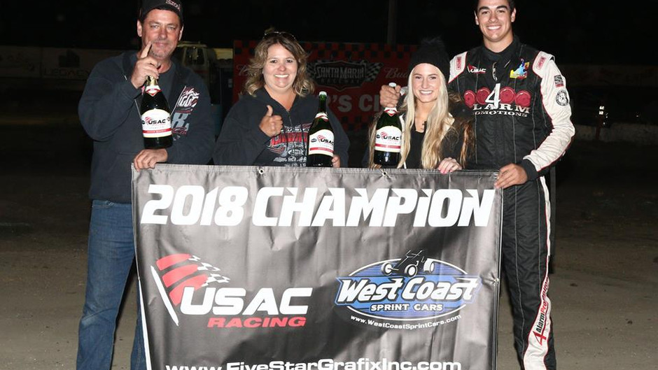 Liggett Claims USAC West Coast 360 Title