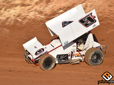 Cody Lamar 16th at Stockton Dirt Track with Sprint Car Challenge Tour