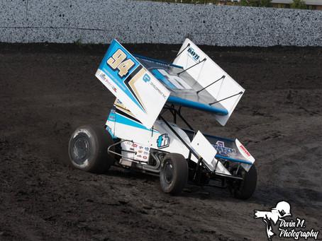 Kyle Hirst 9th at Petaluma Speedway