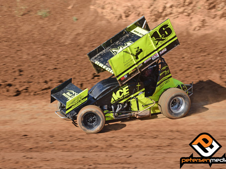 Andy Gregg 10th at Placerville Speedway