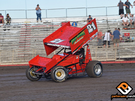 Hopkins Second at Petaluma Speedway Following Tough Trip to Chico