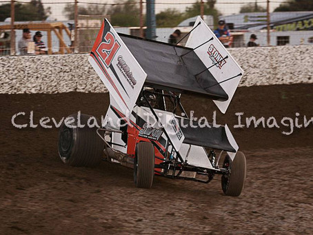 Weather Sends Price To Placerville Speedway; Finishes 11th