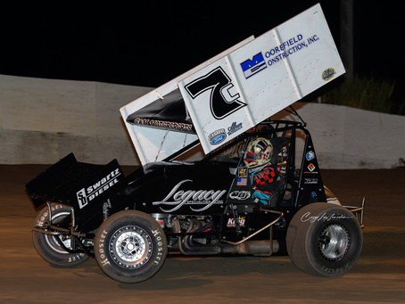 Justyn Cox Second at Mel Hall Memorial with C&M Motorsports