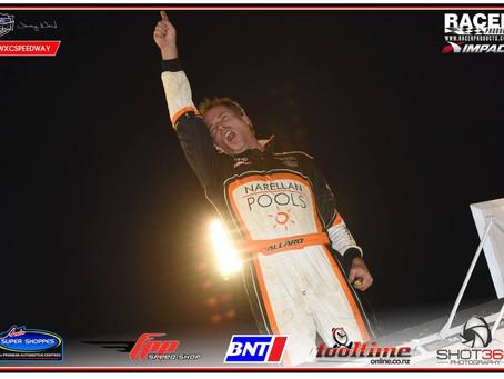 Allard Uses Late Race Heroics To Open 2016 In Victory Lane