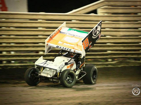 Ian Madsen Runs Well With World of Outlaws Again