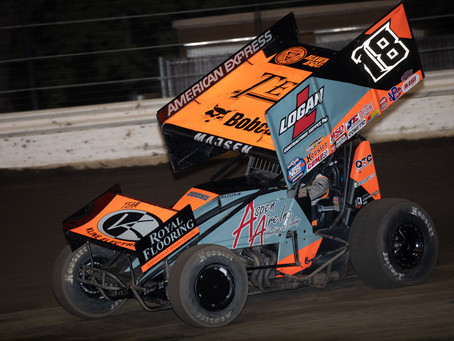 Madsen Charges Into Top-5 at Stockton Dirt Track