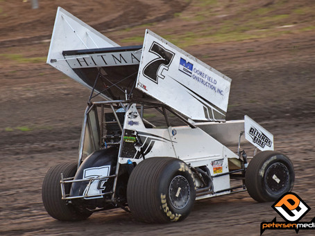 Kyle Hirst Charges Forward on Friday Before Mid-Race Wreck Saturday Night Ends Fall Nationals