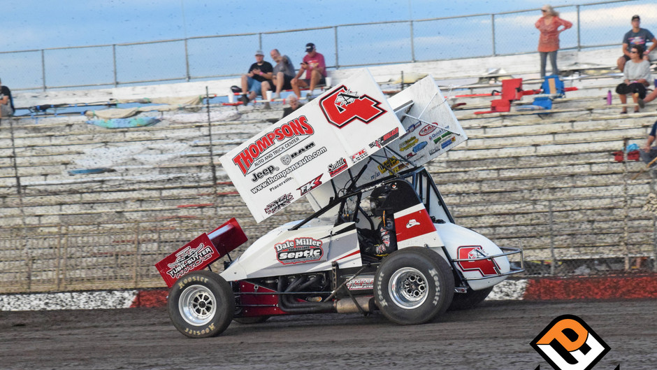 Sanders 4th at the Platinum Cup with Dale Miller Motorsports