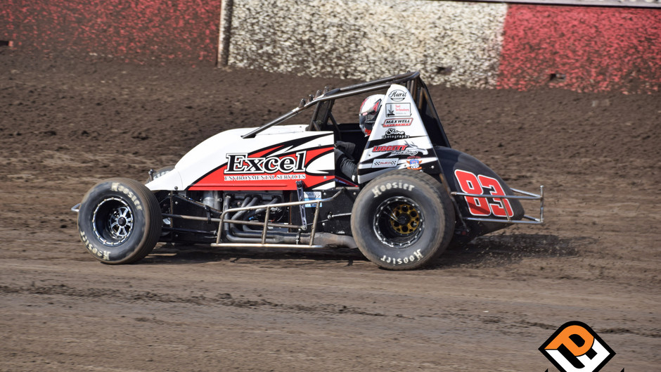 Liggett Hard Charges with USAC/CRA During Eventful Night