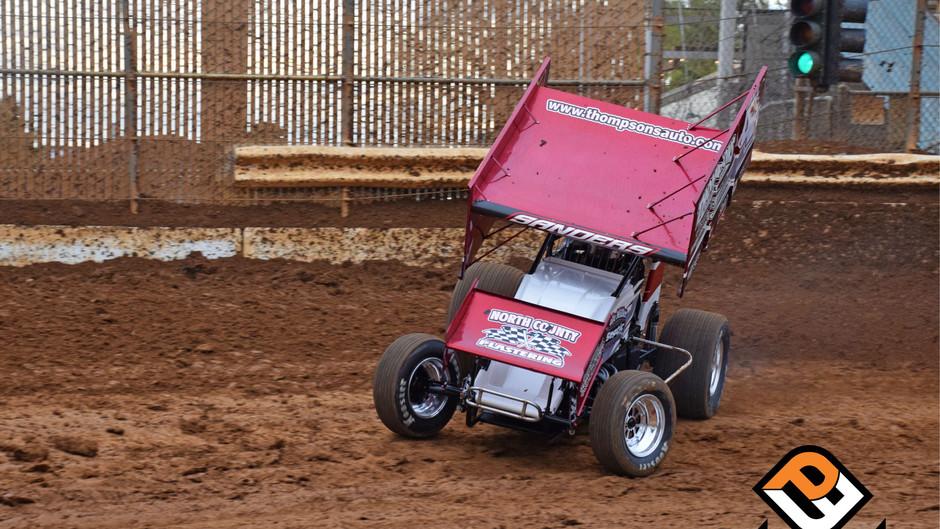 Justin Sanders and Dale Miller Motorsports 4th at Placerville Speedway