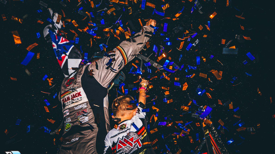Donny Schatz and David Gravel Score Outlaw Wins with KSE Racing Products