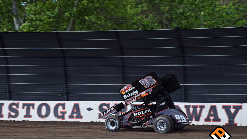 Watts 12th at Calistoga Speedway's Dirt Classic