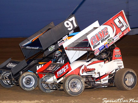Nienhiser Picks Up Top-10 Finish with the World of Outlaws Craftsman Sprint Car Series at Cedar Lake