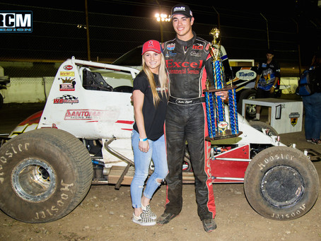 Austin Liggett and Brian Sperry Racing Win Again with C&H Veteran Ent. Wingless Series