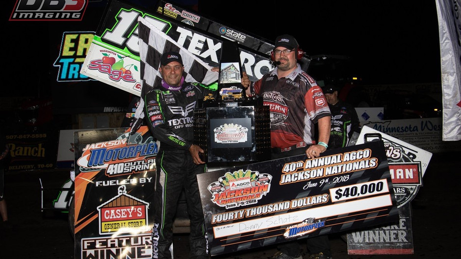 Donny Schatz Shines at Jackson Nationals with KSE Racing Products