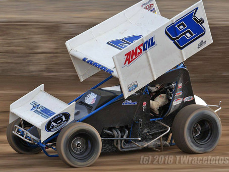 Cody Lamar Has Rough Return to Placerville Speedway