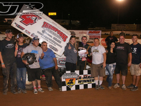 Justin Sanders and Dale Miller Motorsports Score First Win Of Season