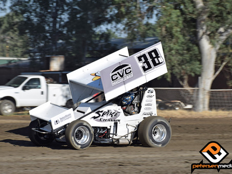 Blake Carrick Scores Another Top-10 at Silver Dollar Speedway