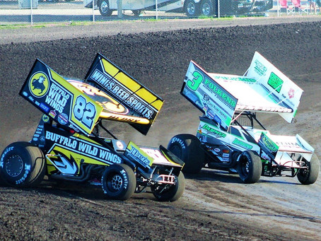 TK Hard Charges With Lunstra Motorsports