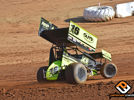 Andy Gregg Fights Back For 12thPlace Finish Saturday Night