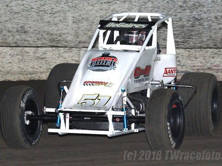 Bubba DeCaires 10th with Brian Sperry Racing at Petaluma Speedway