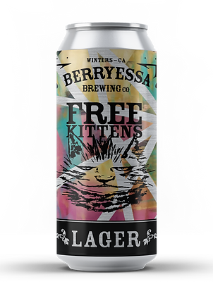 Free Kittens Rice Lager - 24 Pack (California Only)