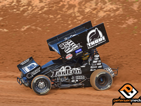 Carson Macedo Ends Spring Outlaw Swing With Top-10 Finish