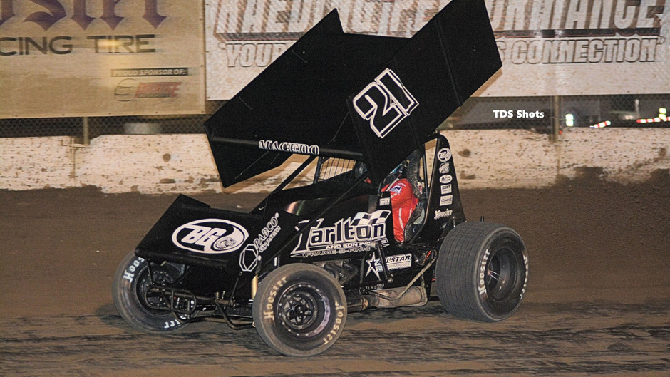 Cole Macedo Rounds Out Ocean Speedway Top-10 Before Saturday Wreck Ends Night Early