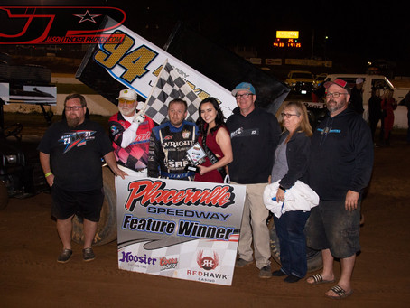 Steven Tiner Picks Up First Win of Season at Placerville Speedway's Season Opener