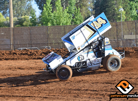Hirst Fourth at Petaluma Speedway After Trying Night at Placerville