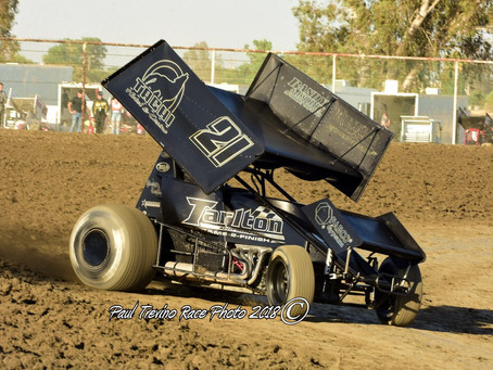 Tommy Tarlton Back in Top Five at Ocean Speedway