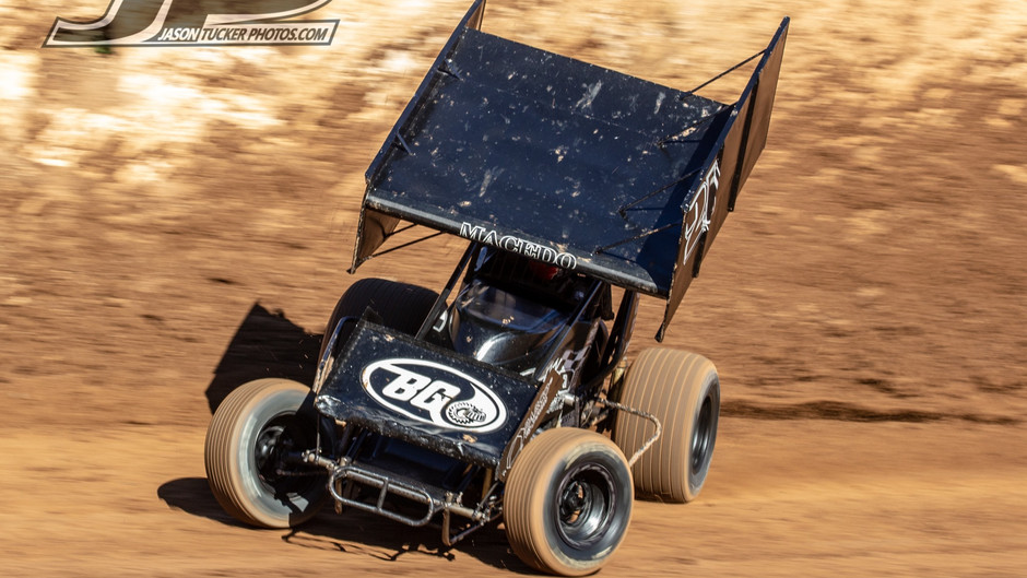 Cole Macedo Hard Charges at Ocean Speedway