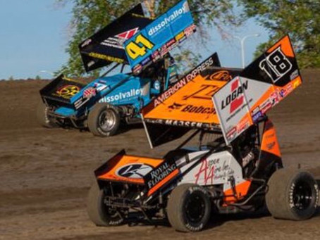 Ian Madsen and KCP Racing Sixth at Beaver Dam