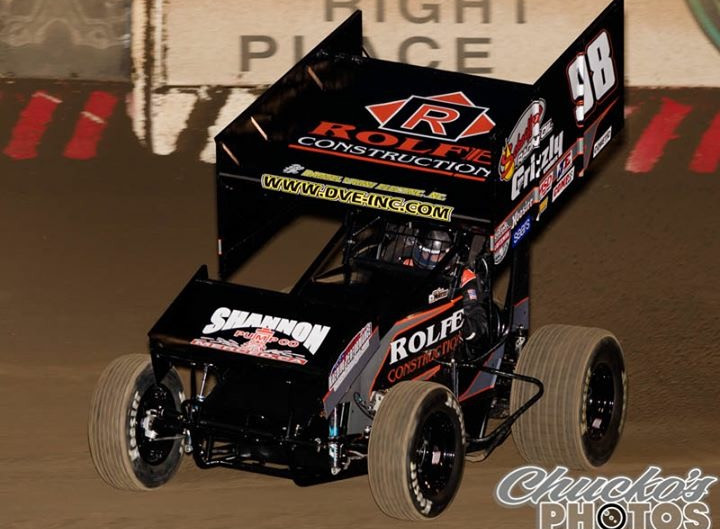 Sean Watts Closes World of Outlaws West Coast Swing- Looks Forward to 2018 King of the West Opener