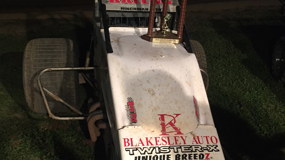 Robert Ballou Captures Grueling Amati Classic at Paragon Speedway