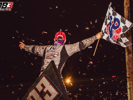 Eliason Nets Second Career World of Outlaws Win with Calistoga Triumph