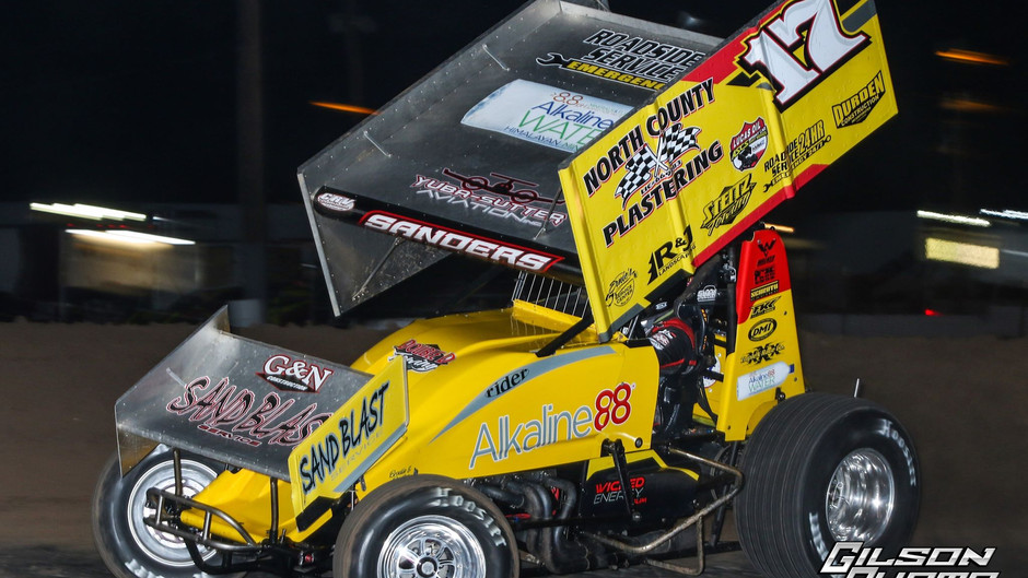 Justin Sanders Gets 2020 Started with Two ASCS National Tour Podiums