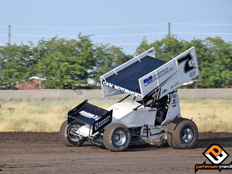 Tony Gualda 5th at Stockton Dirt Track With Sprint Car Challenge Tour