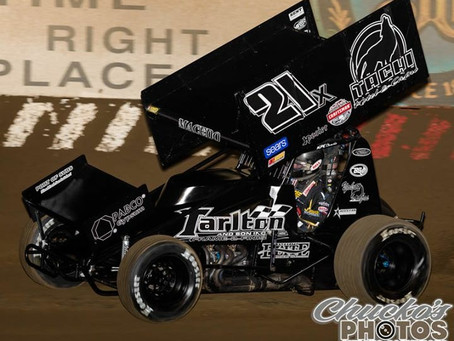 Carson Macedo Fifth Against the World of Outlaws with Tarlton Motorsports