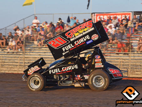 Cory Eliason Fourth With World of Outlaws During Gold Cup Race of Champions