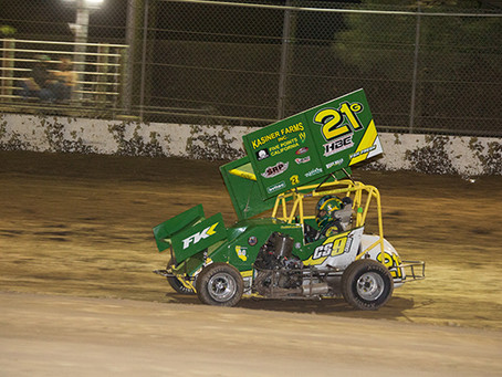 Garth Kasiner Records 95th Career Feature Event Win