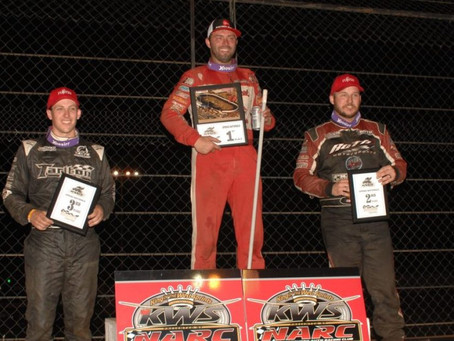Bud Kaeding Uses KSE Racing Products To Sweep in California